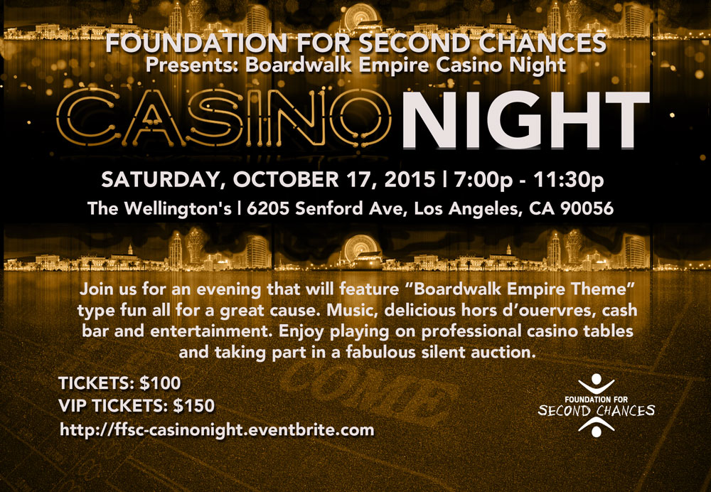 Casino Night Oct. 17th, 2015
